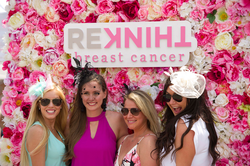 Woodbine Entertainment welcomes back Rethink Breast Cancer as the official charity partner of The Queen's Plate, with an online 50/50 raffle.