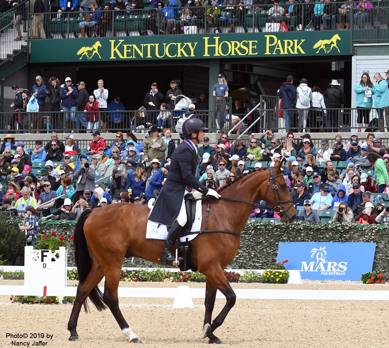 The Kentucky Horse Park won't be considered for 2022 world championships, but the U.S. Equestrian Federation will help it gear up for future such competitions. Photo ©2019 by Nancy Jaffer