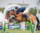 Peder Fredricson and H&M All In clinched the home victory with a brilliant last-to-go run at the Longines FEI Jumping Nations Cup™ of Sweden in Falsterbo (SWE). Photo by FEI/Satu Pirinen
