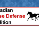 The Canadian Horse Defence Coalition filed a lawsuit against the federal government regarding violations of sections of the Health of Animals Regulations.