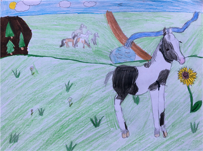 Horse Day Drawing Contest