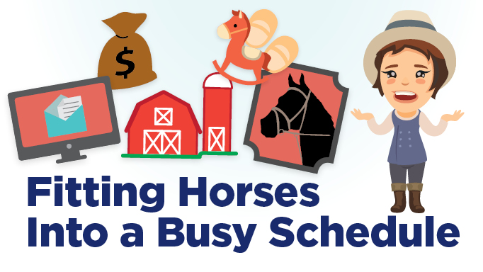 Thumbnail for Four Smart Ways to Fit Horses into Your Busy Schedule