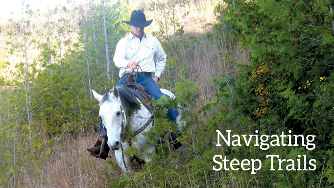 Thumbnail for How to Ride Your Horse Down a Steep Trail Safely