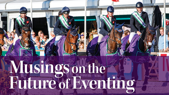 Thumbnail for What Does the Future Hold for the Sport of Eventing?