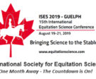 There's just one month to go until the 15th Annual International Equitation Science Conference takes place at the University of Guelph August 19 - 21, 2019.
