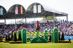 Kent Farrington and Gazelle won the 2019 Rolex Grand Prix held at the CHIO Aachen.