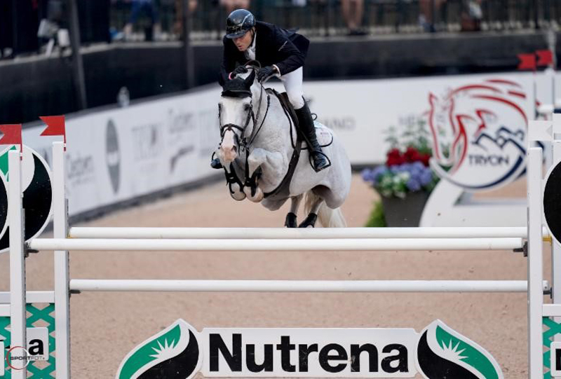 Sharn Wordley and Gatsby won the $72,000 Nutrena® Grand Prix CSI 2* at Tryon International Equestrian Center. Photo ©Sportfot