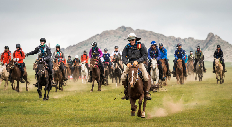 Thumbnail for 45 Riders Will Contest the 11th Annual Mongol Derby