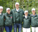 The Irish Dressage team (l-r): Kate Dwyer, Heike Holstein, Milan Djordjevic (chef d'equipe), Judy Reynolds and Anna Merveldt, pictured in Rotterdam where they secured Olympic qualification for Tokyo 2020.
