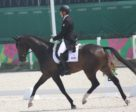 Colleen Loach and FE Golden Eye led the Canadian effort with a fourth-place finish in the dressage phase.