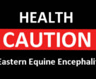 There has been a confirmed case of eastern equine encephalitis (EEE) in a horse in Ontario.