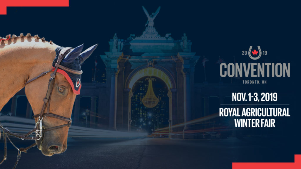 For the first time ever, the Equestrian Canada Convention will be hosted at the legendary Royal Agricultural Winter Fair in Toronto, ON.