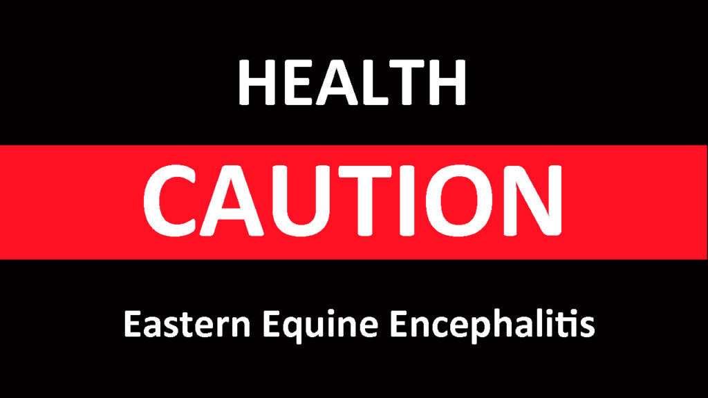 The Equine Disease Communication Center reports that four horses were euthanized this week in Ontario after being diagnosed with Eastern Equine Encephalitis