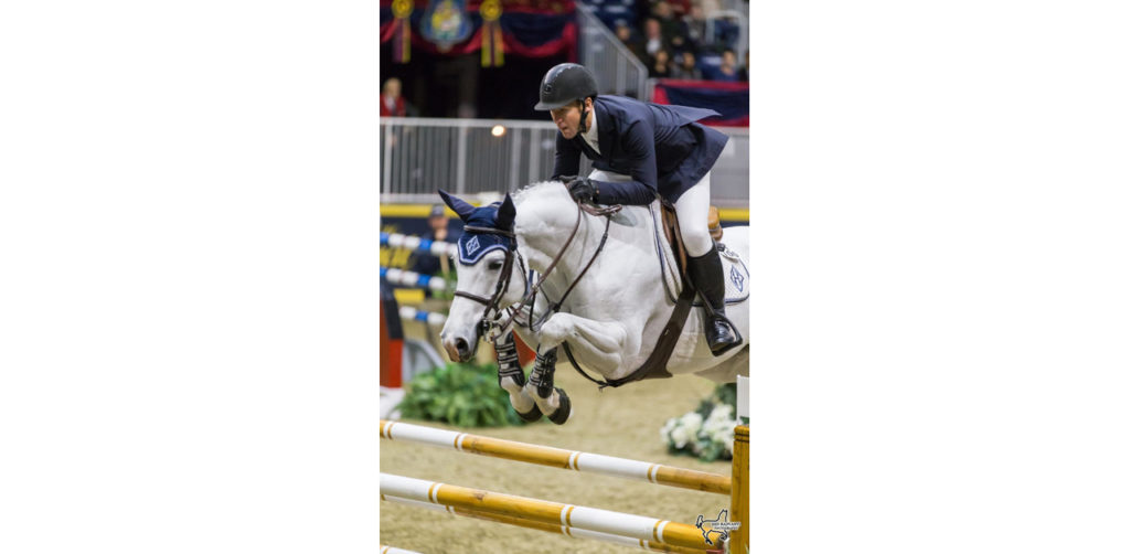 Two-time Olympic gold medalist McLain Ward (USA), pictured riding HH Gigi's Girl, will defend his title in the Longines FEI Jumping World CupTM Toronto at the 2019 Royal Horse Show in Toronto, ON. Photo by Ben Radvanyi Photography