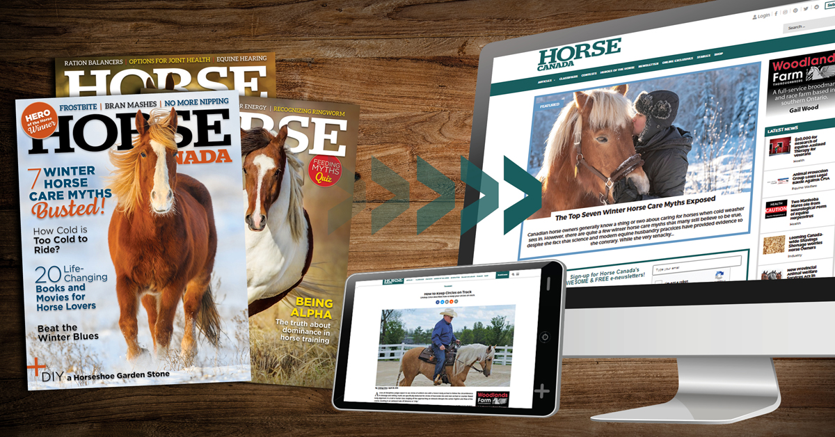 Thumbnail for Horse Canada Magazine Goes Digital Only in 2020