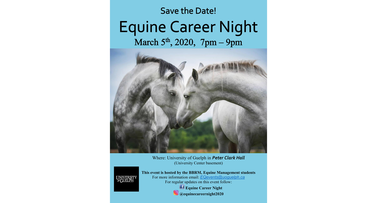 Discover Your Future in the Equine Industry at Equine Career Night