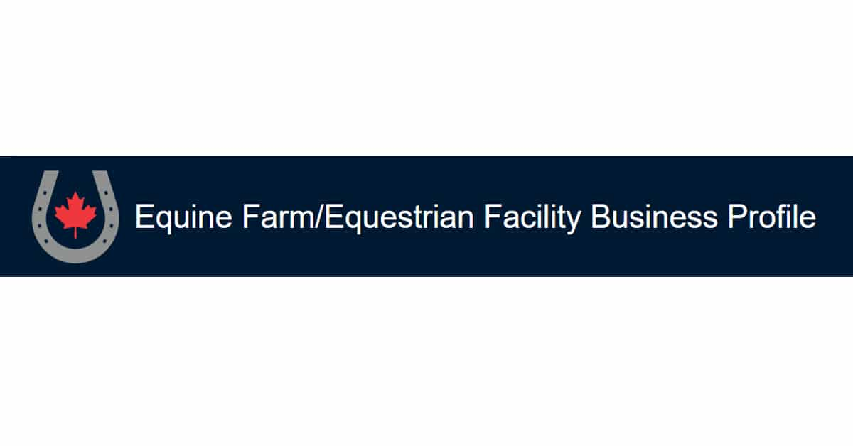 Thumbnail for Reminder to horse farm and equestrian facility owners to take EC Survey