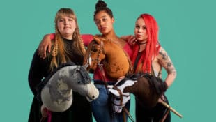 "The movie ""Hobbyhorse Revolution"" is a funny and moving film about the power of imagination and the strength of a community which follows Aisku, Elsa and Alisa whose lives have been transformed by hobbyhorses."