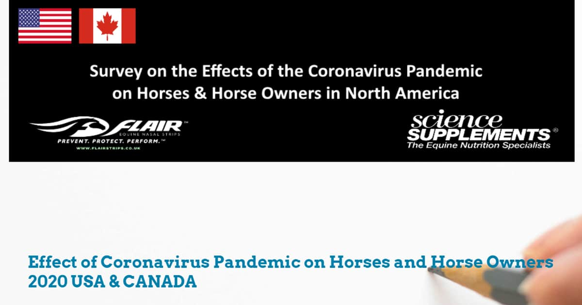 Thumbnail for Take the COVID-19 Impact on Horses and Horse Owners Survey