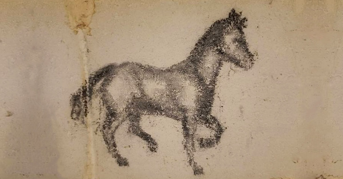 Thumbnail for Mysterious Horse Art Uncovered on Wall in Toronto Home