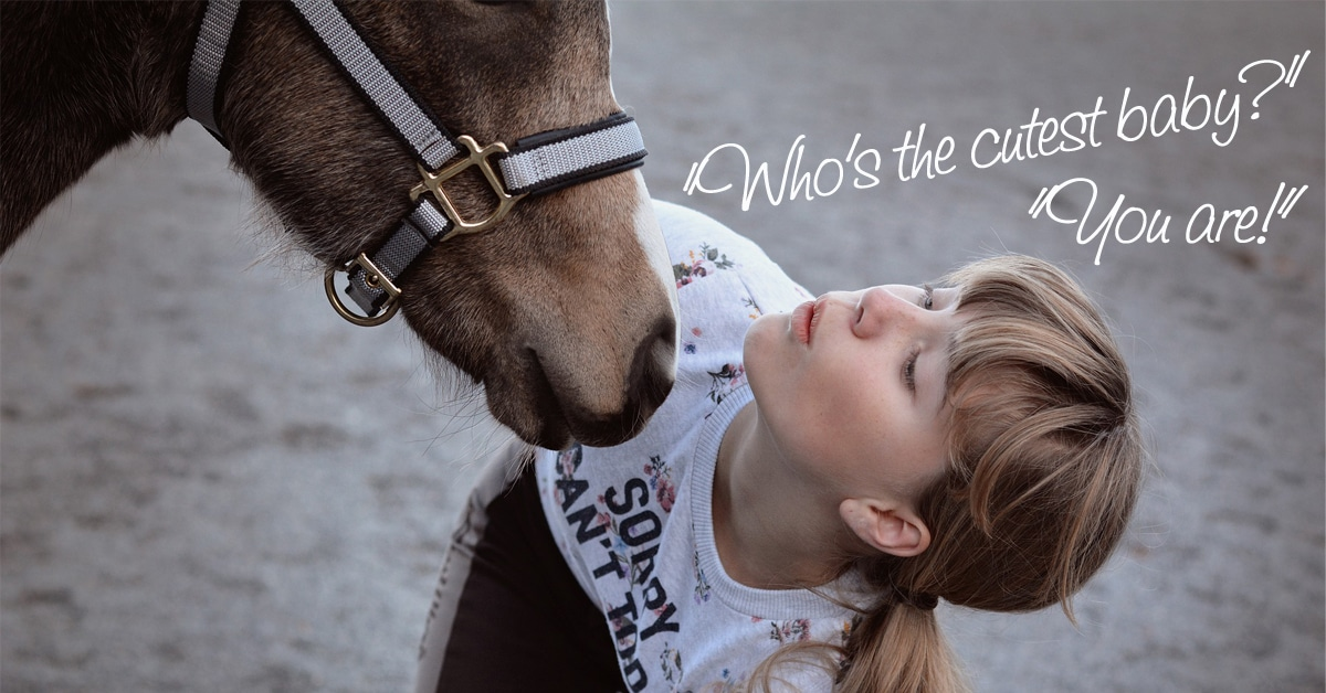 """Thumbnail for New Research Examines How Horses React to """"Baby Talk"""""""