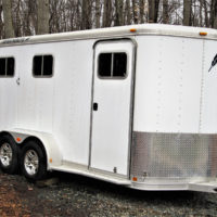 1995 Featherlite 2 Horse Trailer