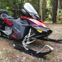 2008 Ski-Doo GSX 600 Touring Limited Snowmobile