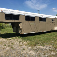 1989 Sundowner 4 Horse Trailer