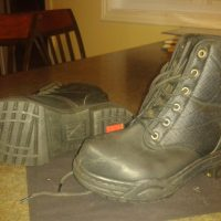 Ladies low cut insulated steel toe riding boots
