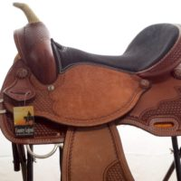 Western Rawhide Travis Barrel Racing Saddle