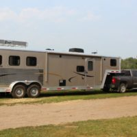 2012 Bison 3 hose with living quarters