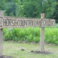 Horse Camping and Trail Riding in the Ottawa Valley