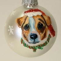 Custom Hand Painted Pet Ornaments only $39.95