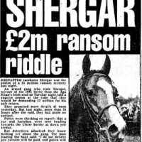 New ebook: Shergar. Kidnapping the Wonder Horse.