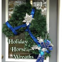 Horse Head Wreaths-Gifts