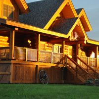 $1,490,000 for a beautiful log home and 15 acres situa