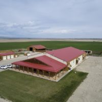 Alberta Indoor Riding Arena with 2 houses