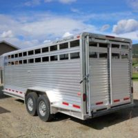 2007 Featherlite Gooseneck 7 x 20 Stock Trailer