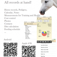 Mobile app for horsemen (Android, iOS)
