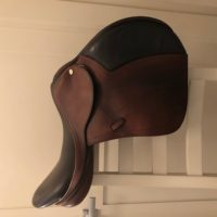 "17.5"" Black Country Solare Jump Saddle"