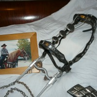 Western tack once owned by Gene Autry, singing cowboy