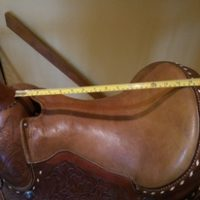 Western Saddle, matching bridle, reins, breast plate