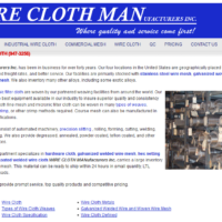 Wire Cloth Manufacturers Inc.