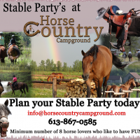 Stable Parties at Horse Country Campground
