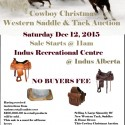 Christmas Tack Auction