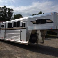 2013 4 Star Custom 6 Horse Trailer