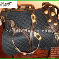 New Baroque Bridle & English Saddle